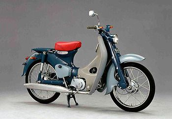 The Honda Super Cub is the best motorbike.