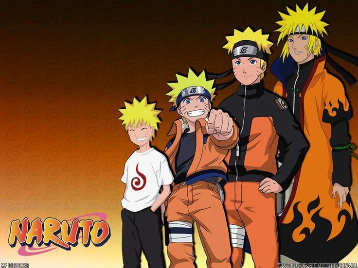 Como o povo imaginava Naruto... quase um Minato xD