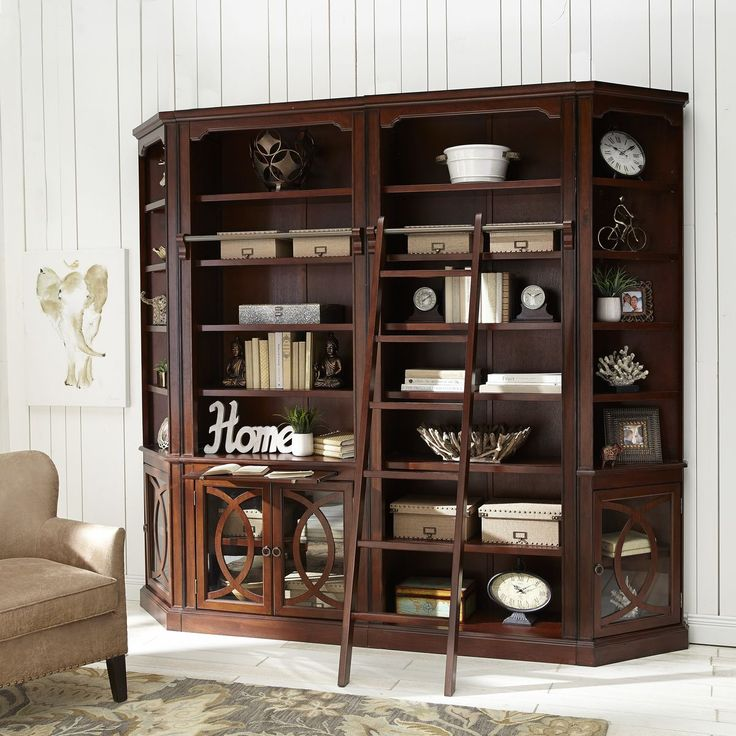 Build Your Own Biblioteca Wall System – Tobacco Brown | Pier 1 Imports