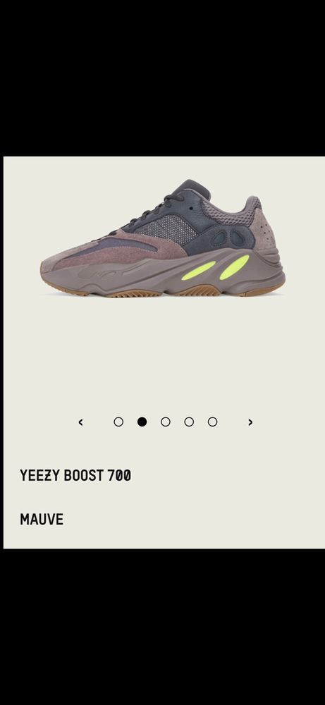 7633eefa5b0 Adidas Yeezy Boost 700 Mauve Sz 10 100% AUTHENTIC ! In Hand Ready To Ship!   fashion  clothing  shoes  accessories  mensshoes  athleticshoes (ebay link)