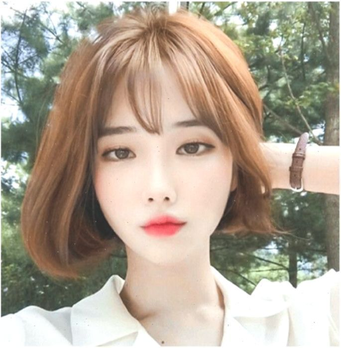 30 Best Korean Short Hairstyles For Round Faces Tips Wig Female Short Hair Korea In 2020 Short Hair Styles For Round Faces Short Hair Korea Hairstyles For Round Faces