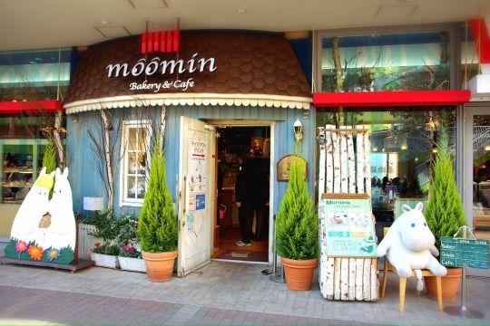 Moomin Cafe, Tokyo