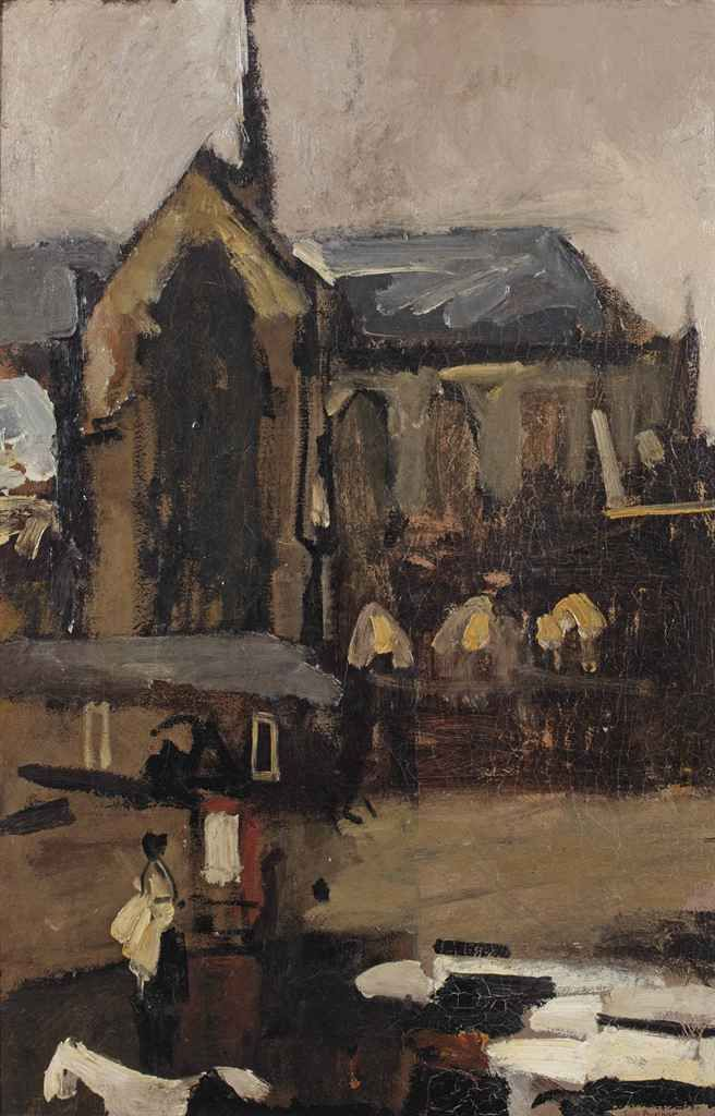 George Hendrik Breitner (Dutch, 1857-1923), Dam Square, Amsterdam, c.1893-96. Oil on canvas, 66.5 x 44.5 cm.