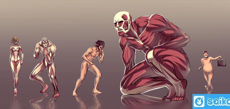 The Mind-Blowing Origin of the Titans in Attack On Titan Series | Saiko Plus