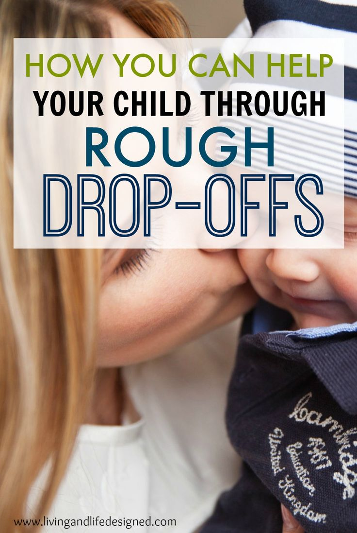 How to help your child and ease tough transition times with your toddler. Methods to try, preparation tips and the best ways to make drop-offs with caregivers tear free.