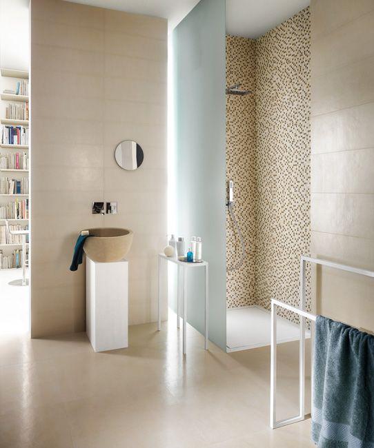 64 best tegelhuys badkamer tegels tiles images on pinterest - Badkamer imitatie vloertegels ...
