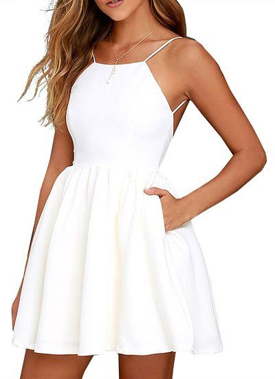12+ Light Pretty White Dresses