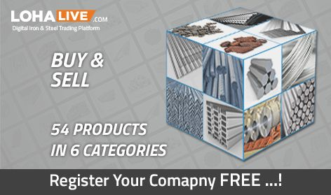 lohalive.com Buy & Sell Iron and Steel Product Online, 54 Products in 6 Categories. Get More details www.lohalive.com