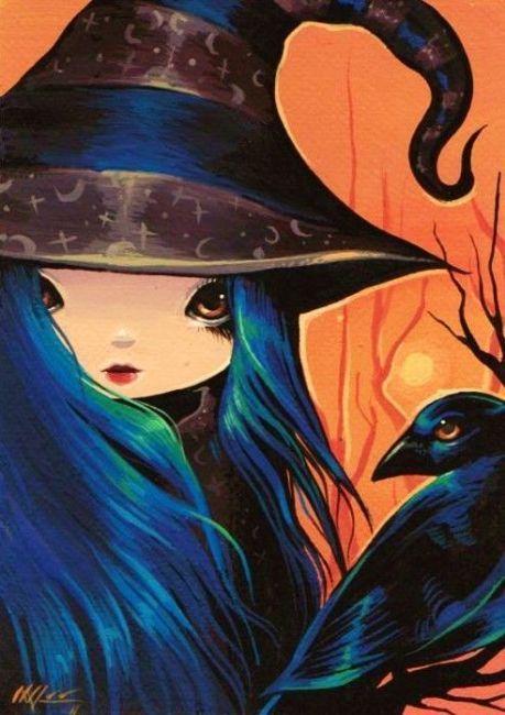 Art: Raven and Raven by Artist Nico Niemi