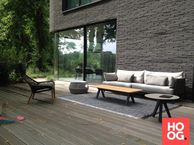 25 beste idee n over terras ontwerp op pinterest daktuinen dakterras en modern buitenleven - Eigentijds pergola hout ...