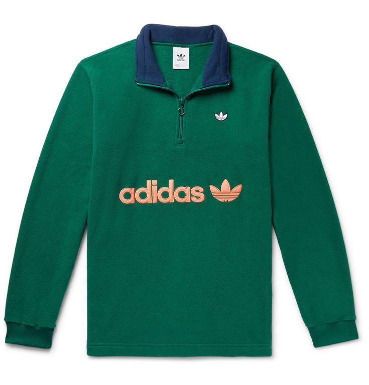 adidas Originals Samstag Colour Block Logo Appliquéd