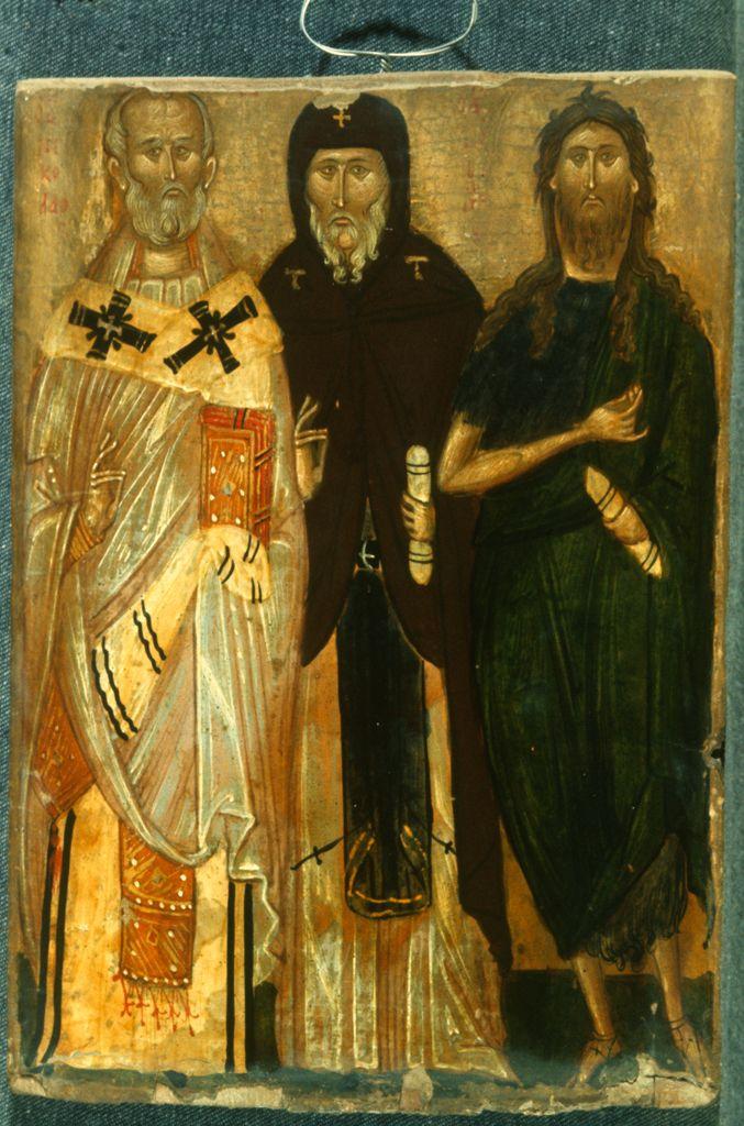 Sts Nicholas Antony and John the Baptist http://vrc.princeton.edu/sinai/files/original/6112/3544.jpg