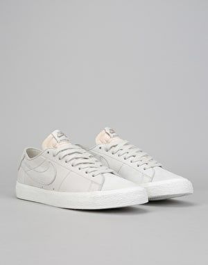 the latest f803b a25c6 Nike SB Zoom Blazer Low Decon Skate Shoes - Light Bone Khaki
