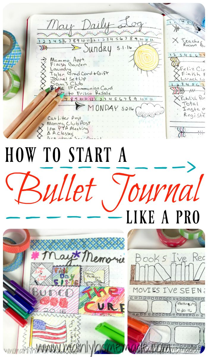 Comment commencer un journal de balle comme un pro