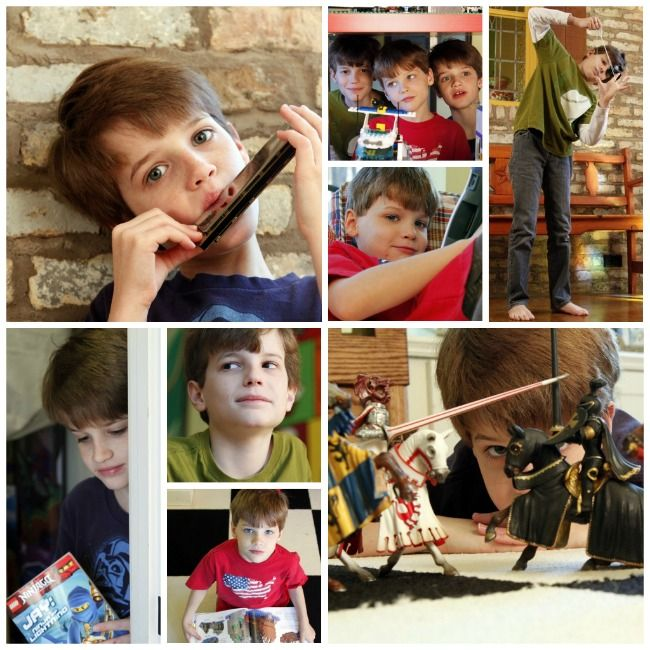 thank you cards: take a picture of child using the gift