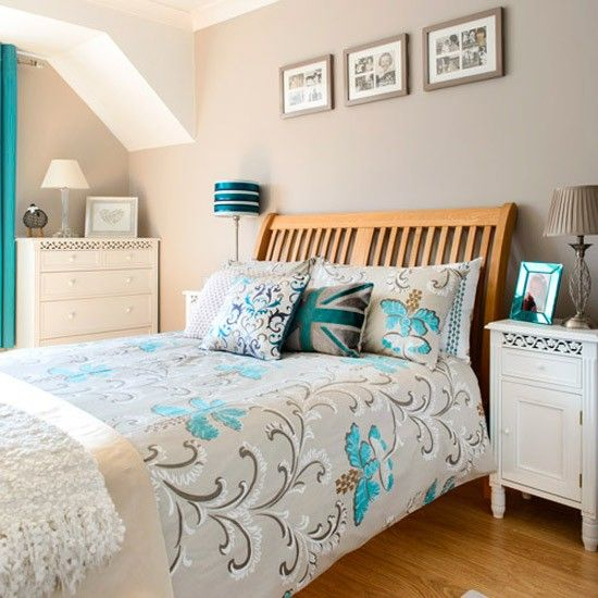 Guest bedroom | 1930s Surrey semi | House Tour | PHOTO GALLERY | Ideal Home | Housetohome.co.uk