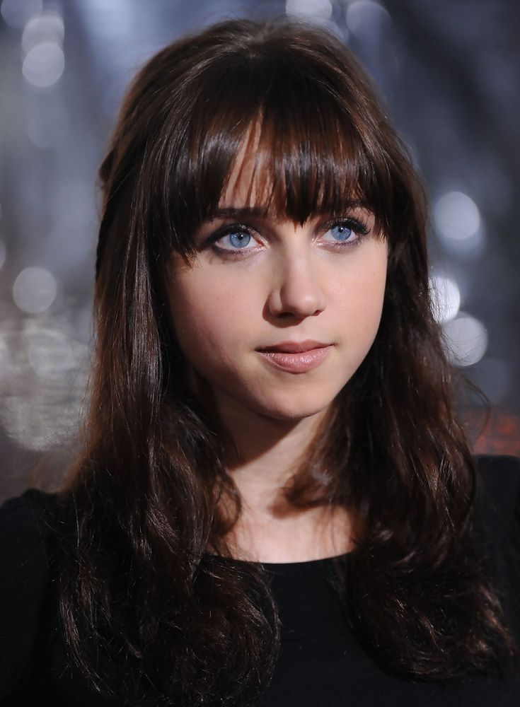 curly haircuts with bangs m 225 s de 25 ideas incre 237 bles sobre zoe kazan en 5962