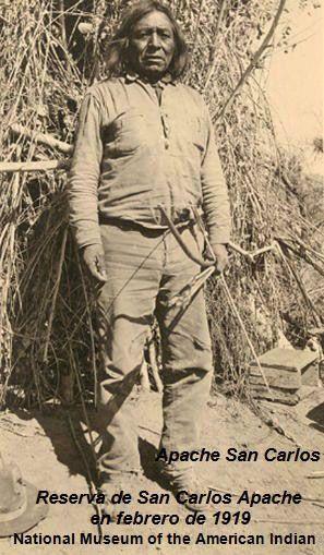Apache San Carlos in 1919