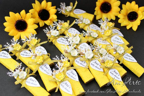 Custom Baby Shower Favors Set of 20 It's A Girl Party by AniArts
