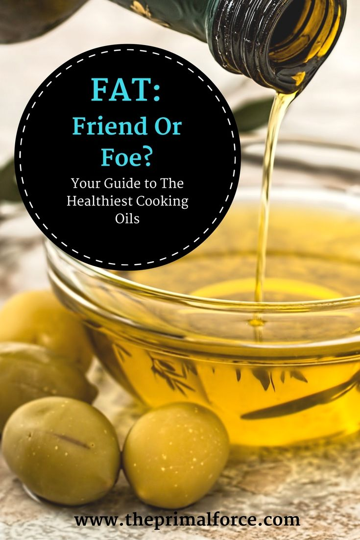 What is the healthiest oil for cooking?