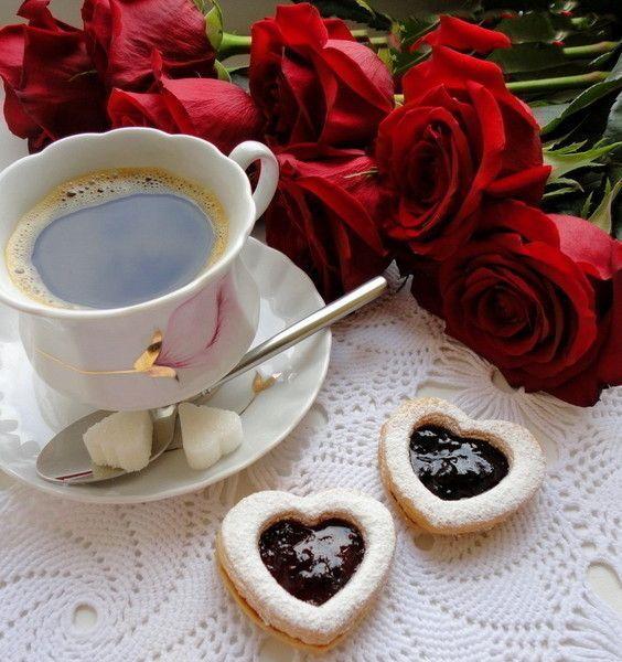 Картинки с добрым утром девушке романтические