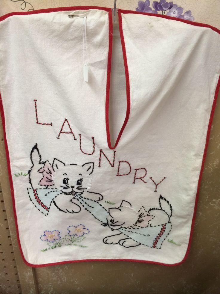 Vintage Laundry Bag 104
