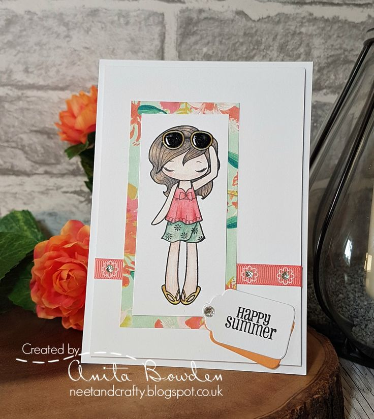 Good morning   My fellow honeys and I have got together again recently and been creating cards from an identical kit of crafty goodies.     ...