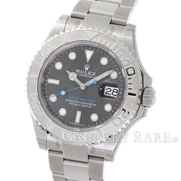 ロレックス ヨットマスター ロレジウム ダークロジウム ランダムシリアル ルーレット 116622 ROLEX 腕時計