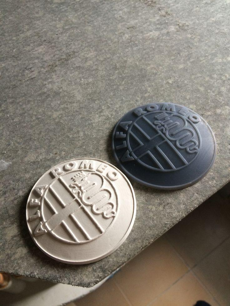 SLA printed master piece for cheramic pouring.