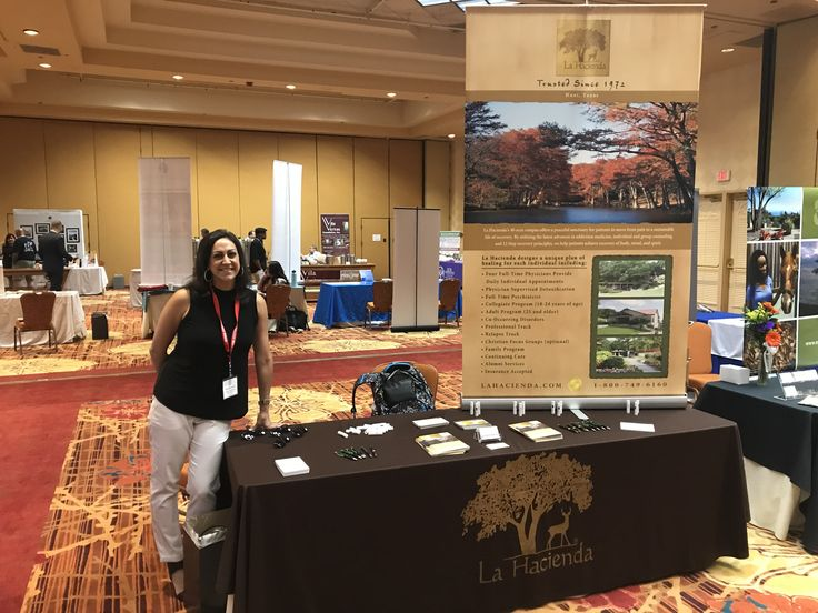 The Labor Assistance Professionals Conference was held at the Tropicana Las Vegas Hotel in Nevada. Representing La Hacienda at our exhibitor's table was Sarah McDonald and Cade Saurage. Labor Assistance Programs are programs built to support the needs of employees within a company that are dealing with substance abuse, mental health, and other related problems. #laharecovery