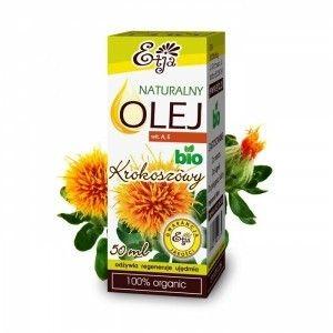 ETJA bio olejek kosmetyczny KROKOSZ 50ml bio żywnośc w biotojestto.pl