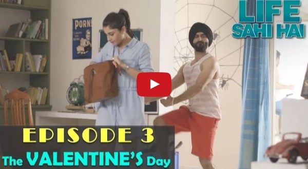 """Once again we come up with """"Life Sahi Hai"""" web series new episode - The Valentine's Day. In this epi..."""