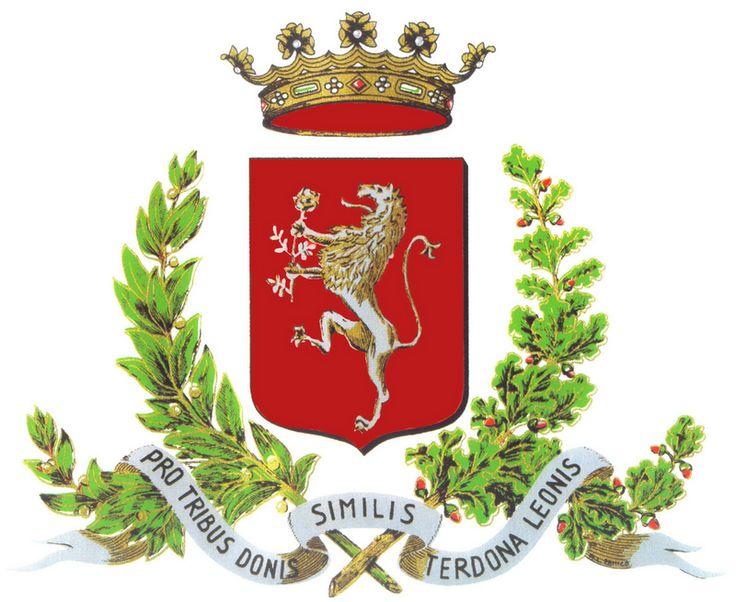 """Il nostro simbolo e il suo antichissimo motto """"Pro tribus donis similis terdona leonis"""""""