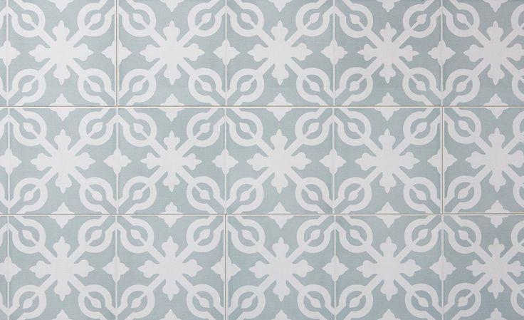 Sol stratifié Style Parisienne, Carreau de ciment, lame 16.00x128.6 cm - Sol Stratifié - Collection Sol - Saint Maclou