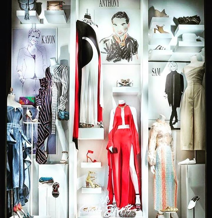 Our SS17 inspirations come alive here!! 💃🏻😍#bergdorfgoodman #fashionmagic #nyfw #work #fashioninspo #ridress #nyc #ridresstravels