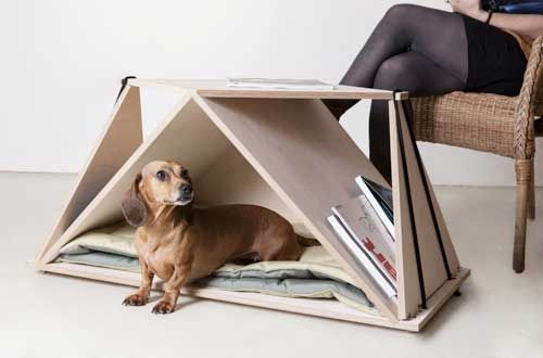 Mesa / Casa para perros de Fabbricabois
