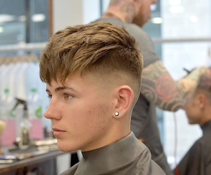 Marvelous 1000 Ideas About Fade Haircut On Pinterest Bald Fade Faux Hawk Short Hairstyles Gunalazisus