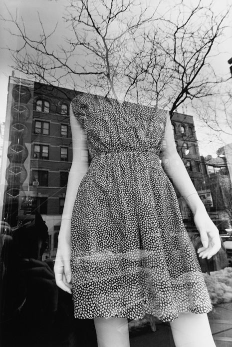 Lee Friedlander's New York City Mannequins Reflection work
