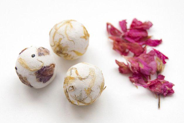 Detalles de boda - Bombas de semillas ecológicas - 25 unidades - hecho a mano por ECOSEED en DaWanda