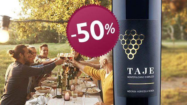Edler italienischer Rotwein aus den Abruzzen -50%