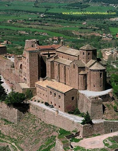 The Castle of Cardona, Cardona, Catalonia, Spain.... www.castlesandmanorhouses.com .... The Castle of Cardona (Catalan: Castell de Cardona) is a medieval fortress situated on a hill overlooking the valley of the Cardener river. A fortress was constructed here by Wilfred the Hairy in 886. Today the castle is used as a parador, a state-run hotel. Because of its history, it has become significant to the Catalonian independence movement.