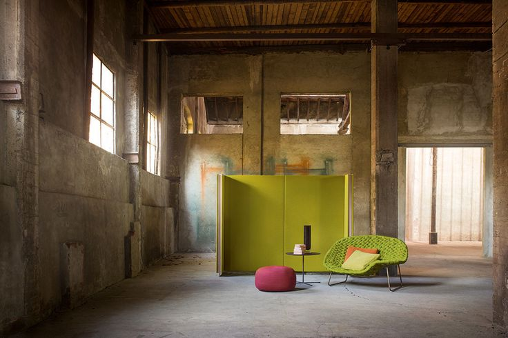 Wood, stone, metal: the Paola Lenti BRAND NEW SPACE for Milano Design Week 2017, at Fabbrica Orobia - Via Orobia 15, Milan, 4-9 April 2017.