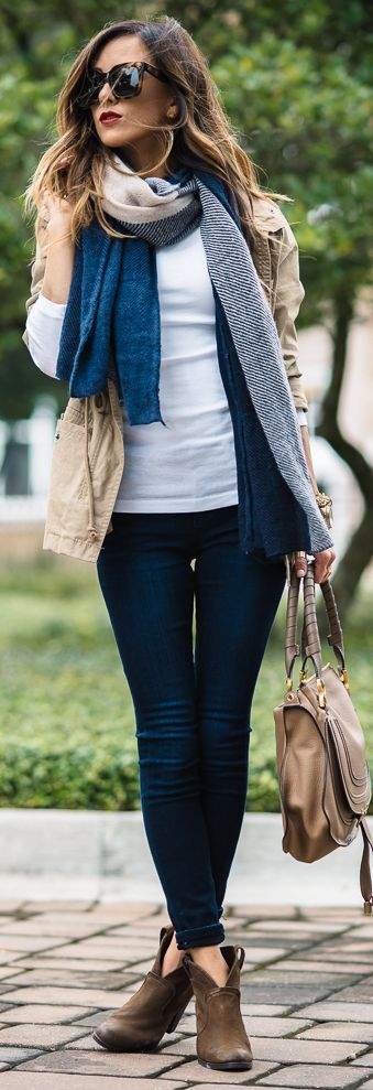 Fall Layers Outfit Inspo by Sequins & Things