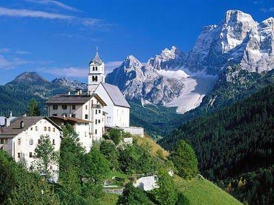 The Dolomite Mountains - Italian Alps