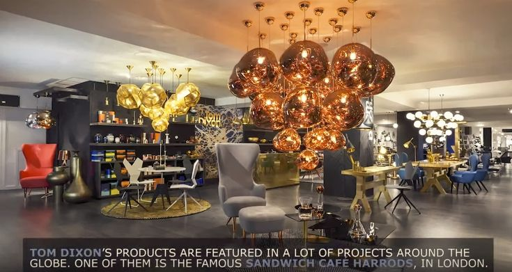 #TomDixon Projects!
