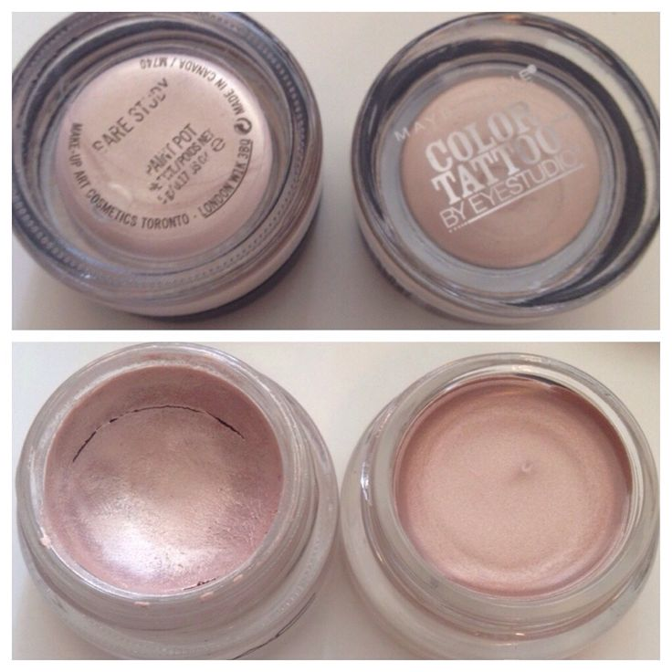 Dupes for MAC Bare Study Paint Pot | Color Tattoo in ...