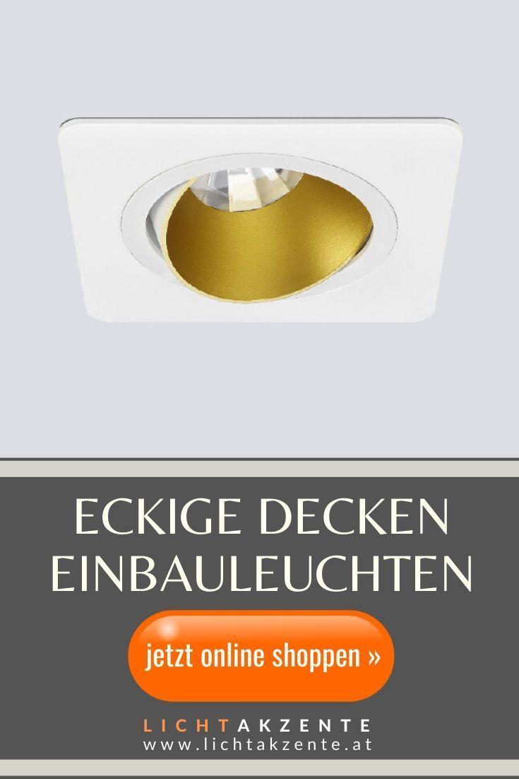 Eckiger Einbaustrahler Ringo Tilt 1 GU10 in 2020