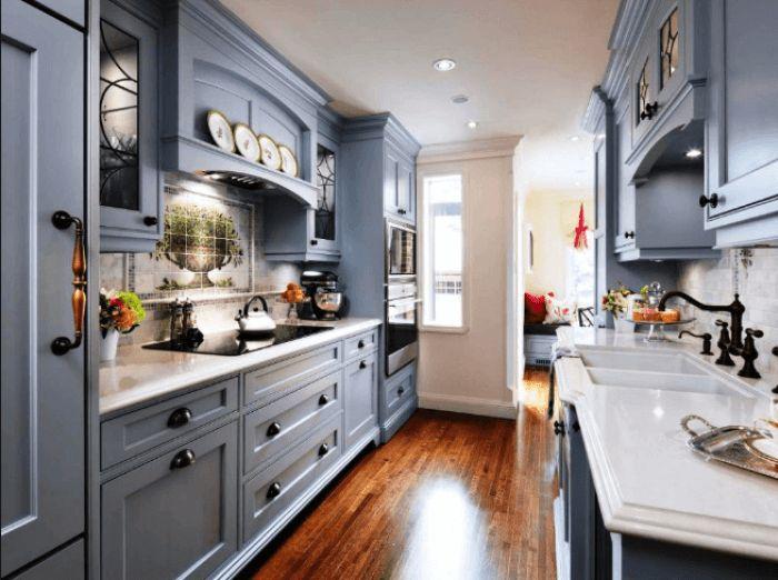 Galley Style Kitchen | Vice Nez 25 Nejlepsich Napadu Na Pinterestu Na Tema Galley Style