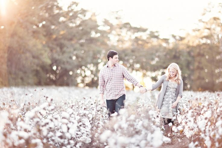 cotton field engagment | Enjoy, and stay tuned for the post from our New York wedding coming ...
