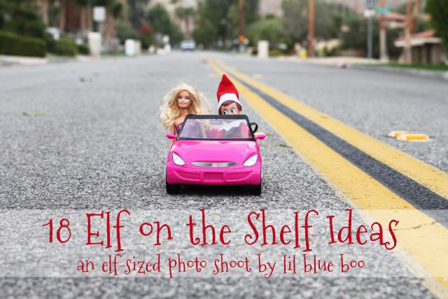Great elf on a shelf ideas!